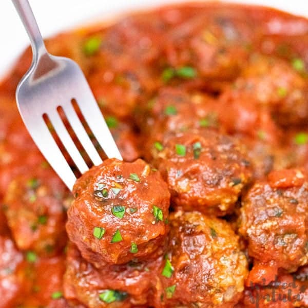 Easy Italian Paleo Meatballs Recipe