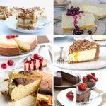 Keto cheesecake collage