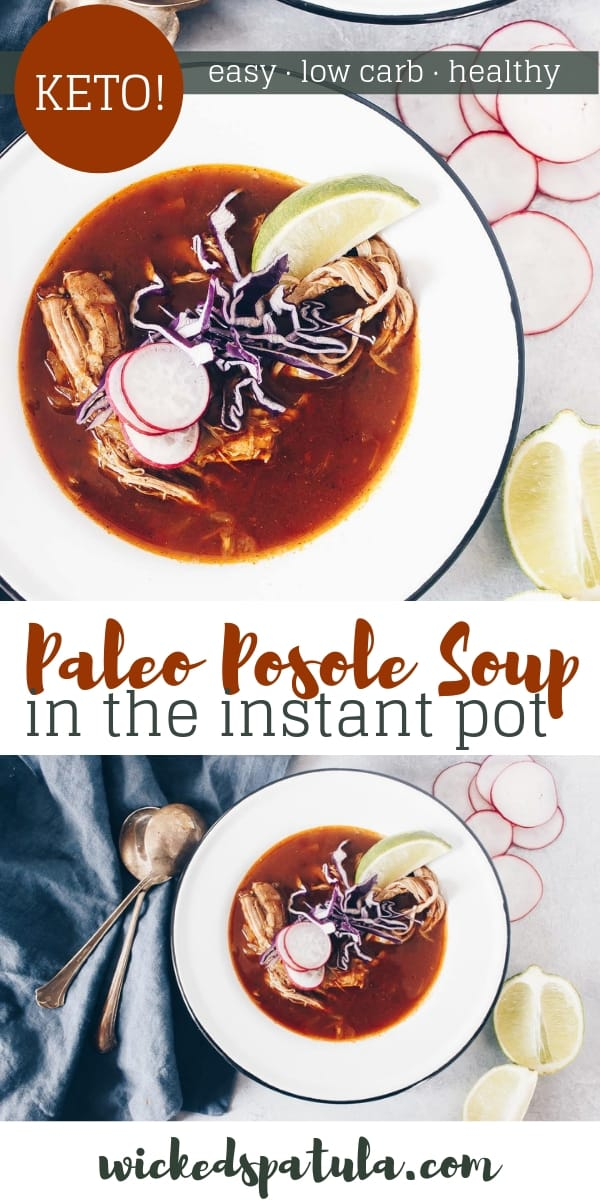 Paleo Posole - Pinterest image