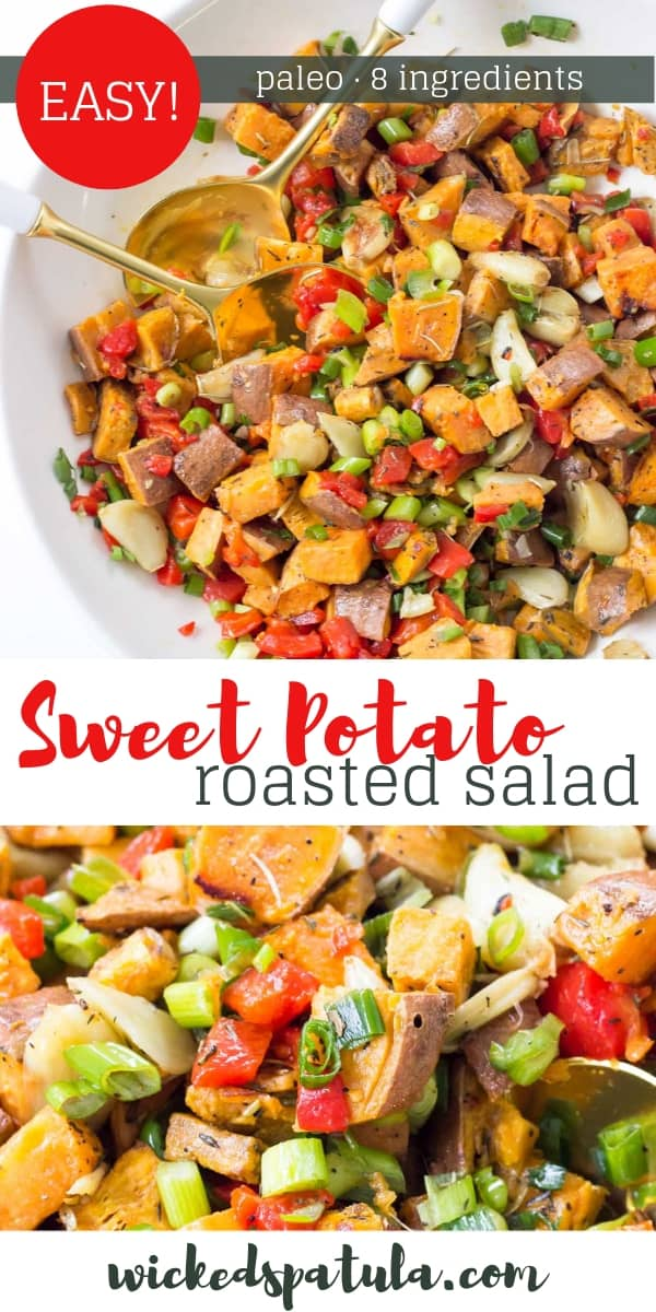 Roasted Sweet Potato Salad - Pinterest image